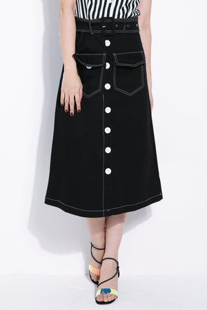 Front Pocket Skirt 6305