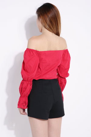 Front Button Top 6485 Tops