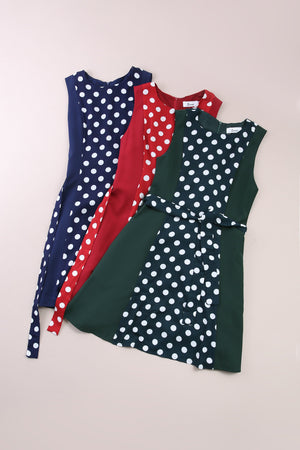 Polka Dot Dress 6567 Dresses