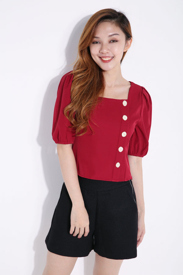 Front Button Top 6614