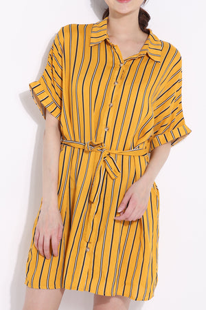 Stripe Dress 6696 Dresses