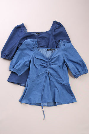 Denim Top 6806