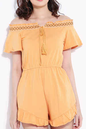 Off Shouder Jumpsuit 6809