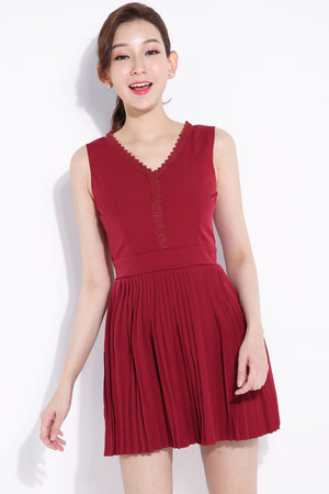 Bottom Pleated Dress 6891 Dresses