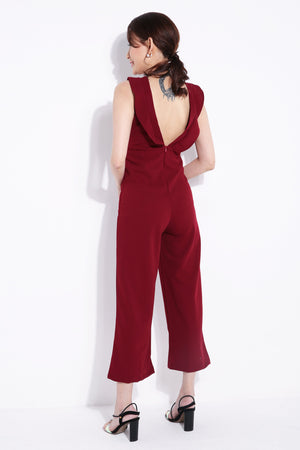 Plain Jumpsuit 6931A