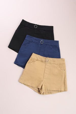 Buckle Ring Short Pant 6968