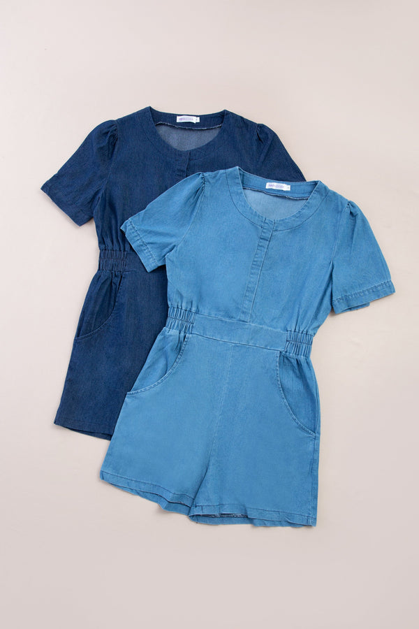 Denim Playsuit 7284