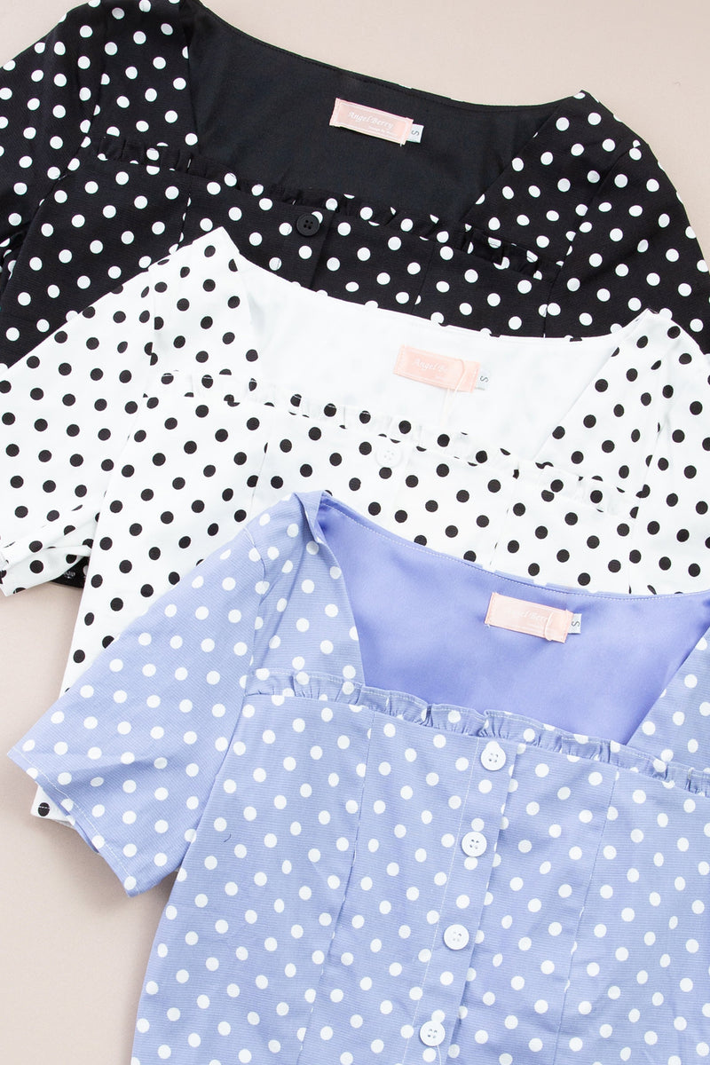Polka Dot Top 7359 Tops