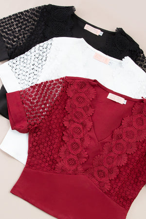 Lace Top 7360