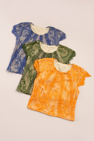 Lace Top 7435 Tops