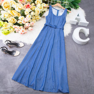 Denim Dress 7632 Dresses