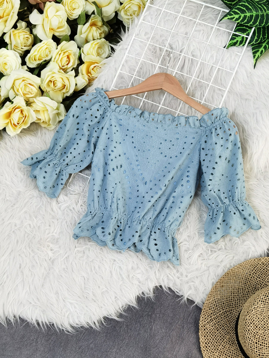 Crochet Top 7647 Tops