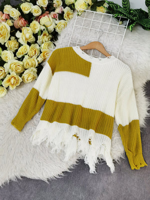 Knit Top 7707 Tops
