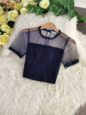 Lace Top 7798 Tops