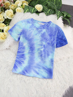 Watercolour Top 7890 Blue / S Tops