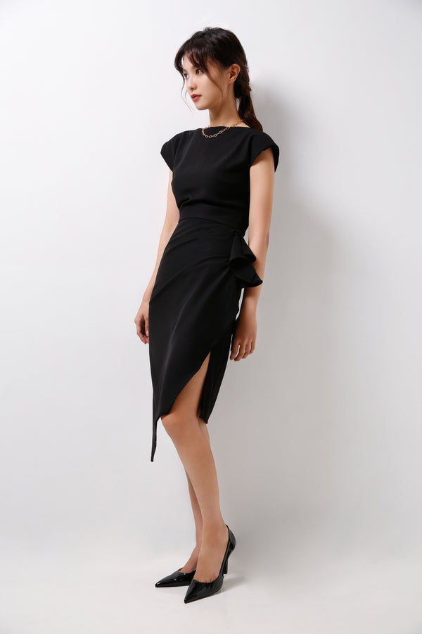 Dress With Draping Details