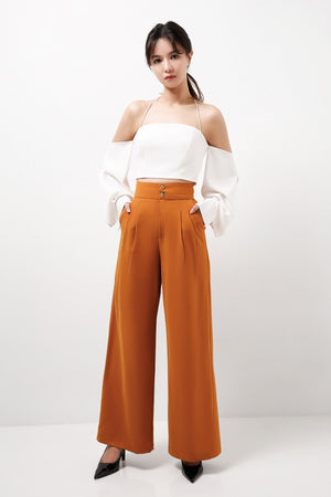 French Pleats Pants  (Premium Quality Ready Stock)