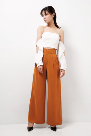 French Pleats Pants  (Premium Quality Pre-Order)