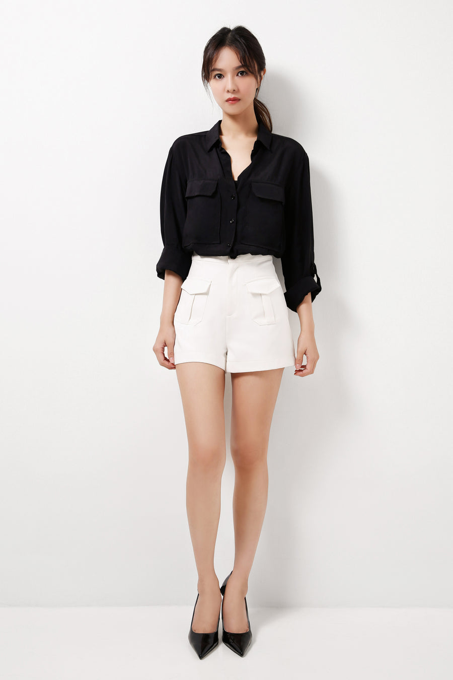 Patch Pocket Shorts (Premium Quality Ready Stock)