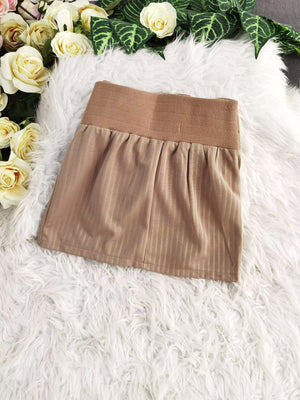 Plain Short Skirt 7921 Bottoms