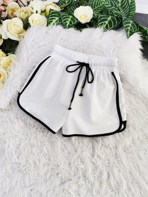 Sporty Short Pants 7934A Bottoms