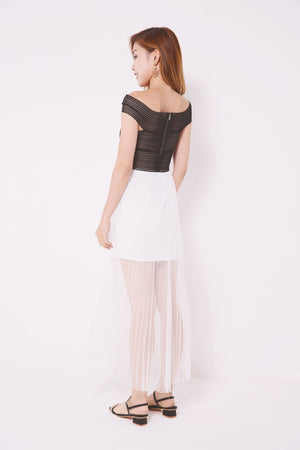 Sheer Mesh Dress 4701 - ample-couture