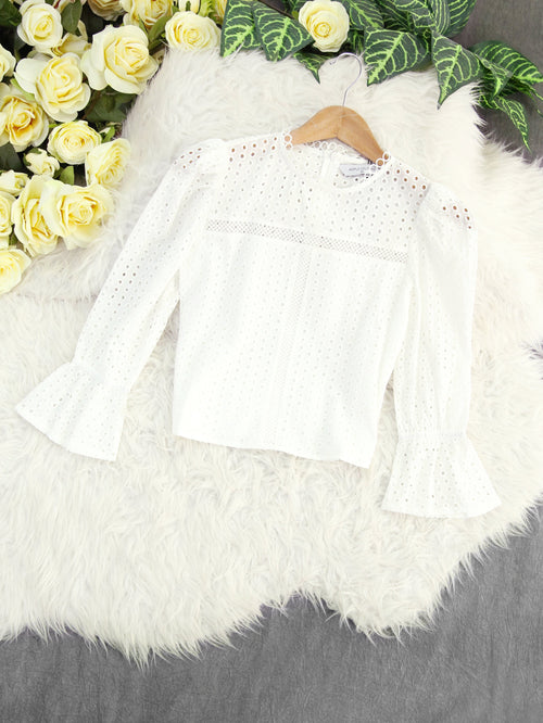Crochet Top 8033 Tops