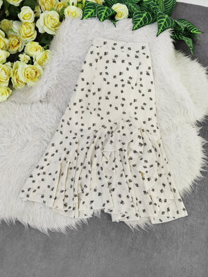 Flower Skirt 8134 Bottoms