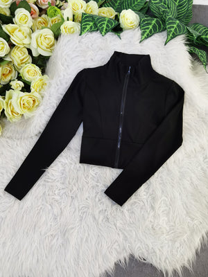 Plain Jacket 8244A Outerwear