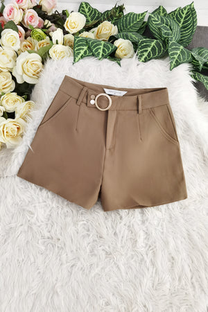 Buckle Short Pants 8421