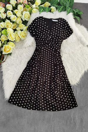 Polka Dot Dress 8479