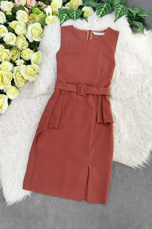 Sleeveless Dress 8612