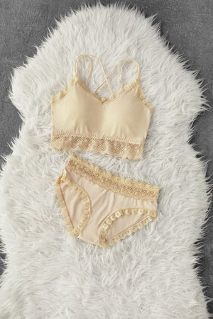 Piece Bra Set 8666A
