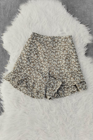 Polka Dot Short Pant 8963