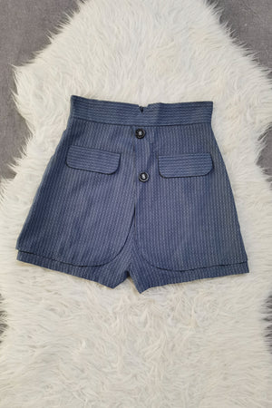 High Waist Short Pants 8970