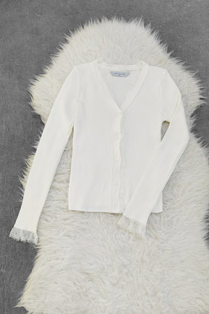 Long Sleeve Knit Cardigan 9011A