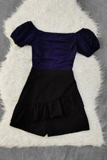 Dual Tones Playsuit 9052