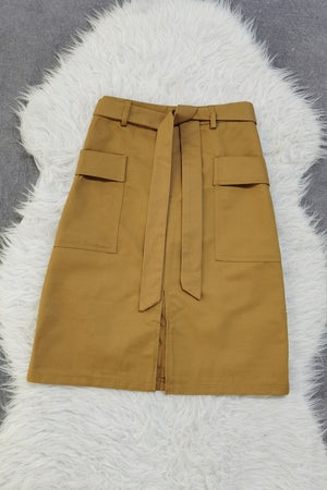 Front Pocket Skirt 9112