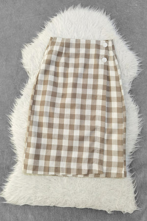 Checker Skirt 9509