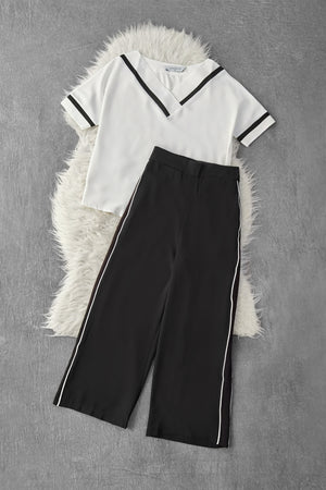 Sport Top With Long Pants Set 9523A