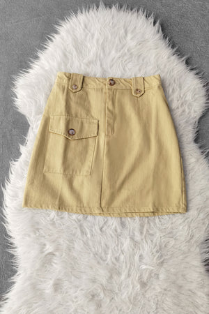 Front Pocket Skirt 9460