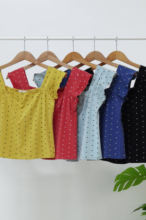 Polka Dot Top 9915