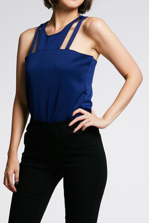 Sleeveless Top 0661 - Ample Couture