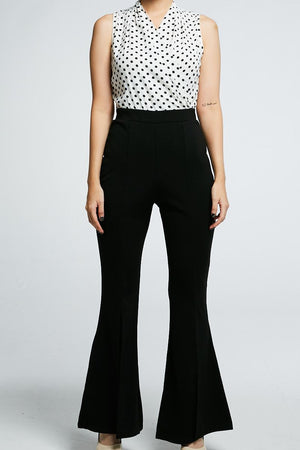 Polka Dot Jumpsuit 0707 - Ample Couture