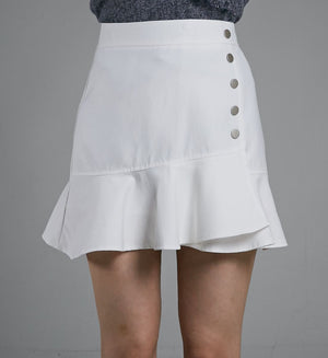 BUTTON SKIRT 0522 - Ample Couture