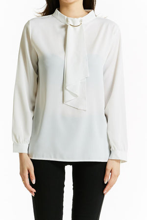 Middle Pearl Blouse 0808 - Ample Couture