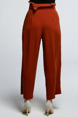 Midi Plain Pants 0639 - Ample Couture