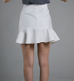 Button Skirt 0522 - ample-couture