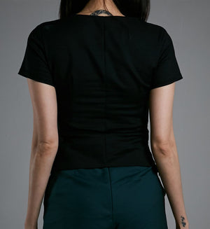 SHORT SLEEVES TOP 0550 - Ample Couture