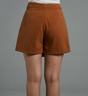 Button Skort 0572 - Ample Couture